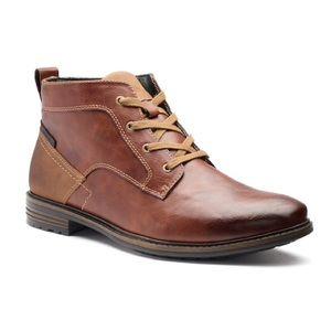 Men's Sonoma cognac ankle boots, 10.5